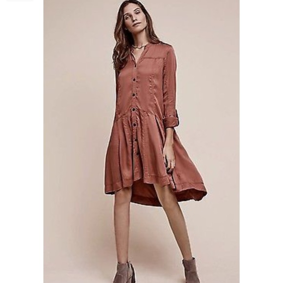 9c15f3c5e9f87 Anthropologie Dresses & Skirts - Anthropologie holding horses button down  dress 6P